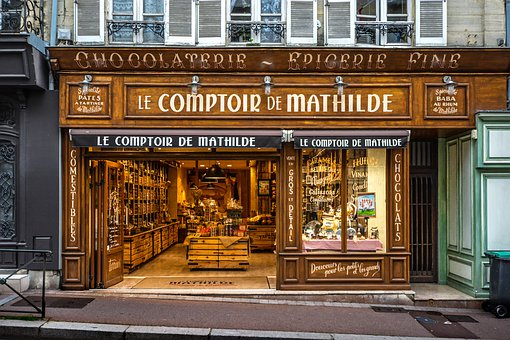Street, Architecture, Outdoors, Shop, Chocolaterie