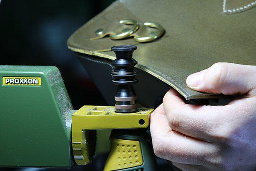 Technique, Leather, Leather Craft, Bag, Props, Craft