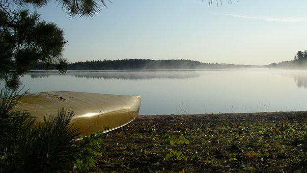Water, Nature, Outdoors, Landscape, Canoe, Canoeing