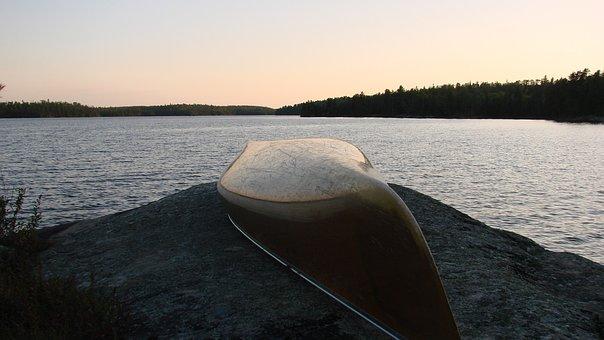Water, Nature, Lake, Outdoors, Canoe, Canoeing, Travel