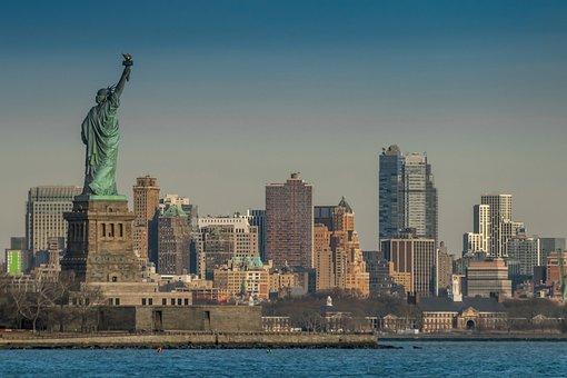 City, Architecture, Travel, Cityscape, Skyline, Liberty