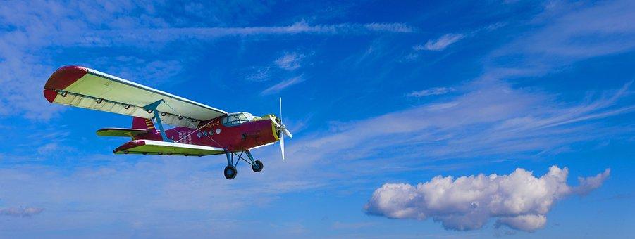 Aircraft, Sky, Air, Flight, Fly, Cloud, Panorama