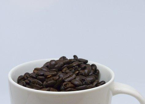Coffee, Cup, Drink, Caffeine, Dark, Bean