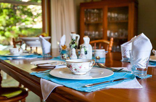 Dining Room, Wood, Fine China, Tableware, Table, Dining