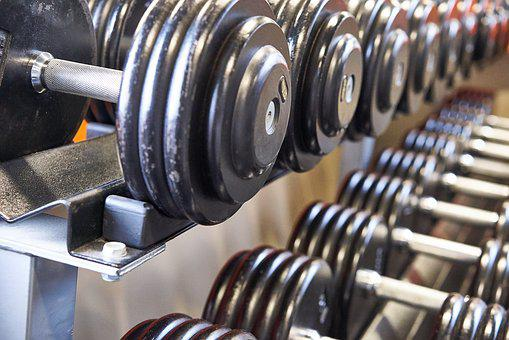 Dumbbell, Weight Lifting, Strength, Iron, Weight, Hard
