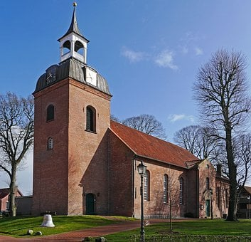 Wittmund, East Frisia, City Church, Protestant, Bell