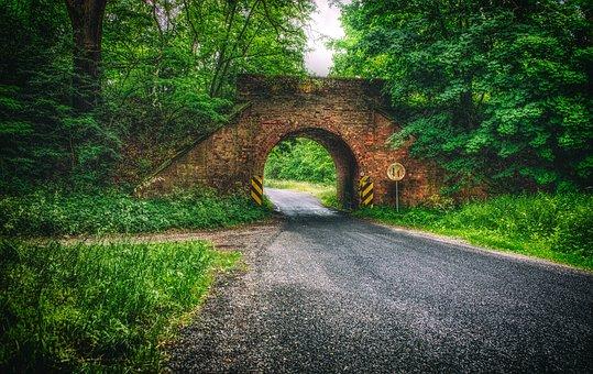 Bridge, Nature, Landscape, Poland, Footbridge, Way