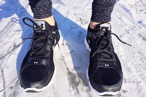 Run, Snow, Winter, Footwear, Sport