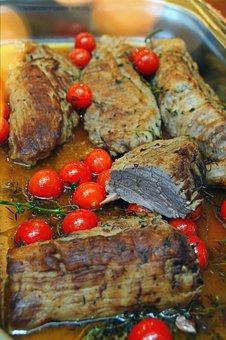 Meat, Steak, Food, Barbecue, Meal, Dinner, Gourmet