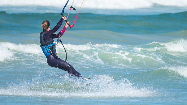 Kite Boarder Kite Boarding, Kite Surfing, Kite-surfing