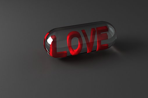 Pill, Of, Love, Symbol, Valentine