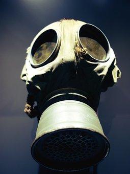 Mask, Protection, Safety, Radioactive, Helmet, Gas Mask