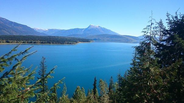 Water, Nature, Landscape, Lake, Sky, Scenic, Mountain
