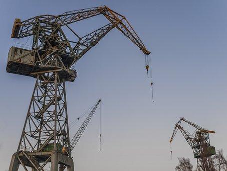 The Industry, Machine, Sky, Expression, Heavy, Gdańsk