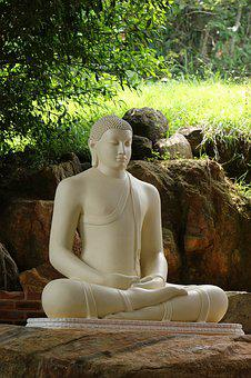 Sculpture, Stone, People, Meditation, Buddha, Statue