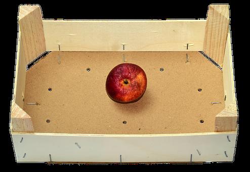 Obstkiste, Apple, Old, Thong, Last, The Last Apple