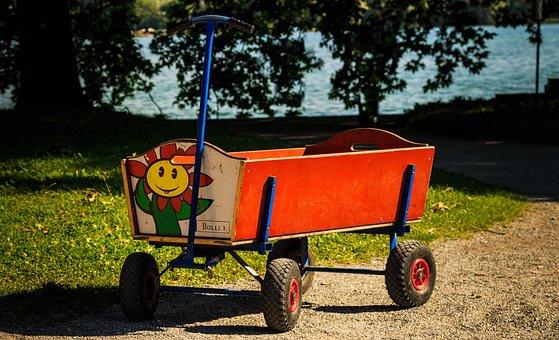 Stroller, Children Toys, Carry, Transport System
