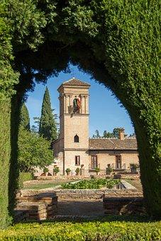 Granada, Andalusia, Parador, San Francisco