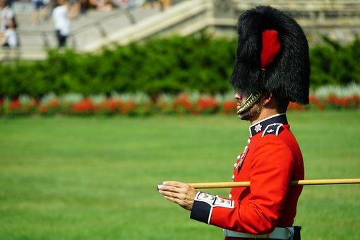 Guard, Canada, Ottawa, England, Bearskin Cap