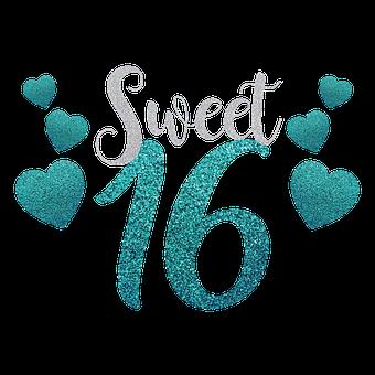 Sweet Sixteen, Birthday, Sweet 16