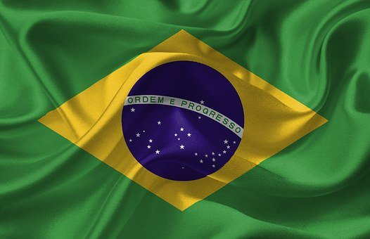 Brazil, Flag, Country, National, Nation, Symbol
