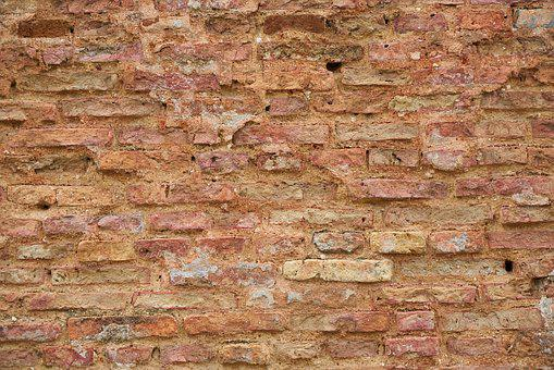 Brick, Red, Background, Brick Wall, Old Wall, Old