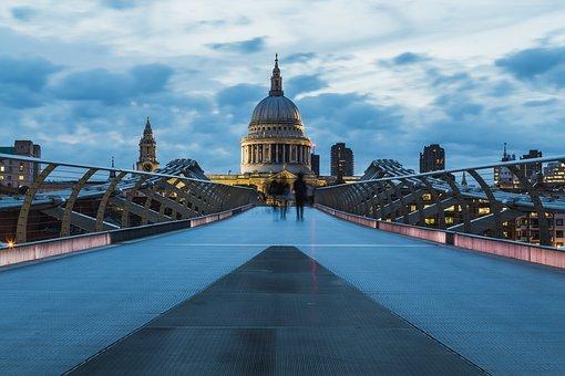 Architecture, Travel, City, Sky, Bridge