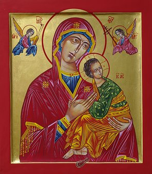 Mother Of God, Icon, Wedding Gift, Church, Is Help