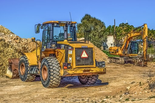 Heavy Machines, Equipment, Machinery, Construction
