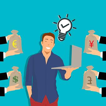 Freelance, Freelancer, Idea, Job, Offer, Gift, Donation