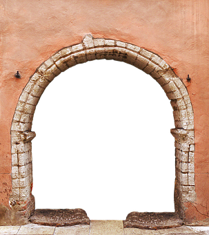 Portal, Archway, By Looking, Historically, Old, Goal