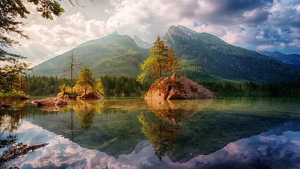 Waters, Nature, Mountain, Lake, Travel, Landscape