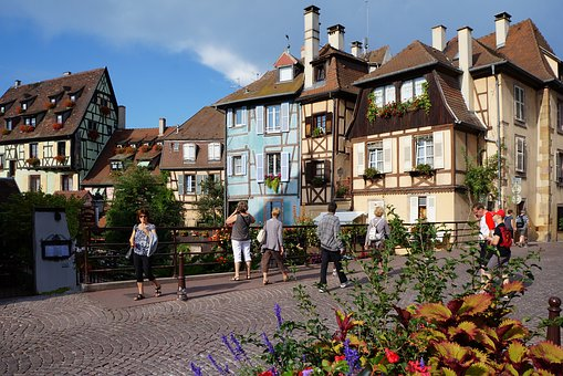 Home, Architecture, City, Road, Old, Colmar