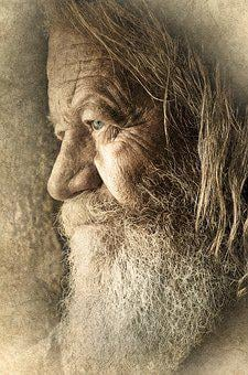 Old, Man, Male, Face, Beard, Portrait, Senior, Person