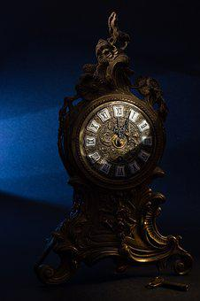 Watch, Ancient, Old, Wristwatch, Gold, Retro, Timer