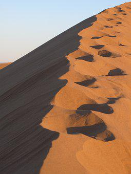 Sand, Desert, Dry, Parched, Dune, Morocco
