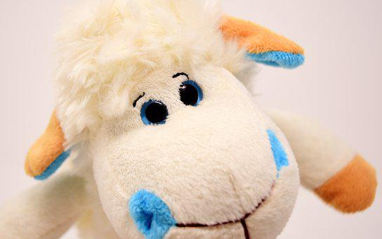Sheep, Plush, Soft Toy, Fun, Toys, Funny, Teddy Bear