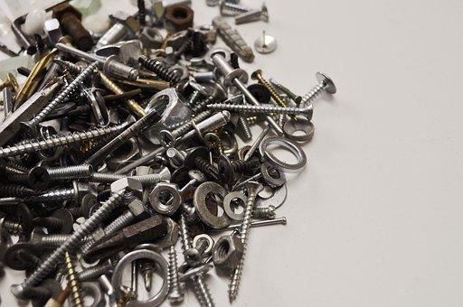 Steel, Iron, Screw, Tool, Metallic