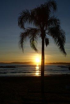 Beach, Side, Sand, Body Of Water, Sun, No Person, Sea