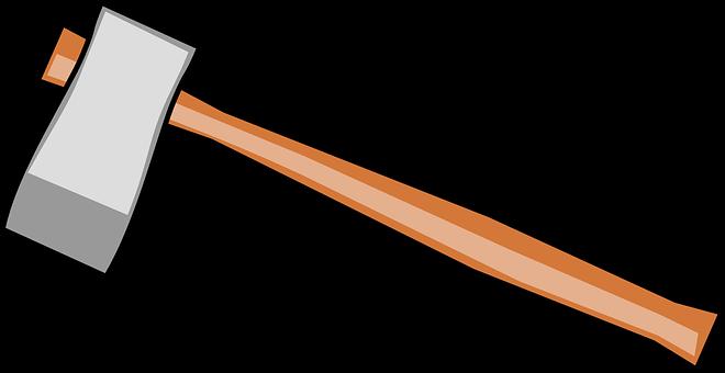 Axe, Tools, Wooden, Sharp, Blade, Hardware, Tool