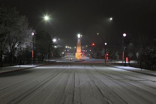 Cumhuriyet University, Clock Tower, Time, Tower