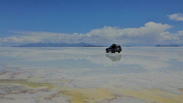 Salt Plain, Landscape, Nature, Travel