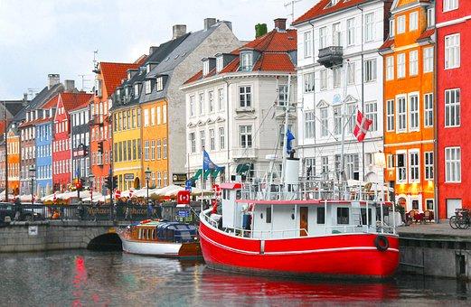 City, Travel, Water, Tourism, Architecture, Copenhagen