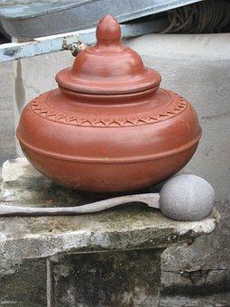 Pottery, Clay, Pot, Earthenware, Ceramic, Wat, Bangkok