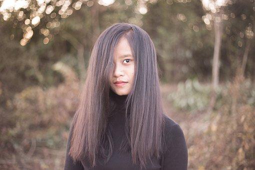 Asian Girl, Tribal Girl, Local Girl, Nature, Beautiful