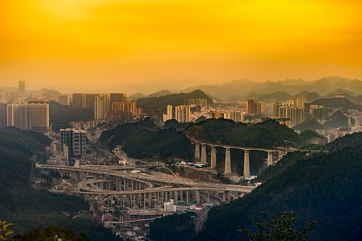 A Bird's Eye View, City, Building, Cityscape, Tourism