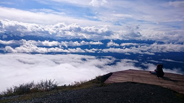 Panoramic, Mountain, Nature, Landscape, Clouds