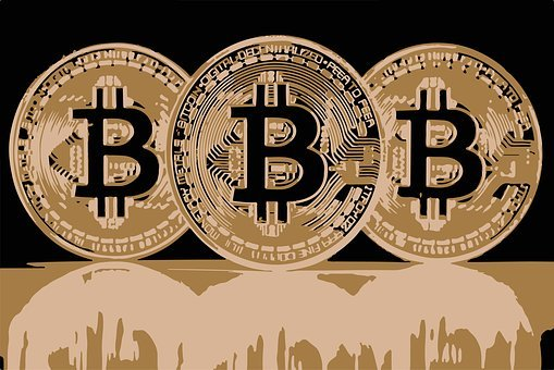 Bitcoin, Cryptocurrency, The Internet Currency, Sign