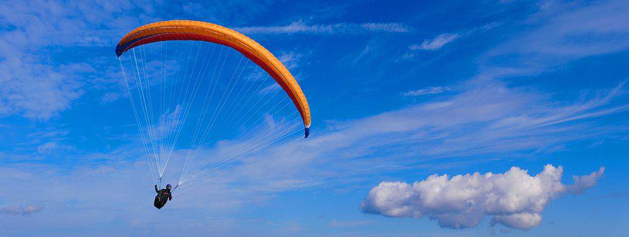 Sport, Fly, Paragliding, Paraglider, Freedom, Leisure