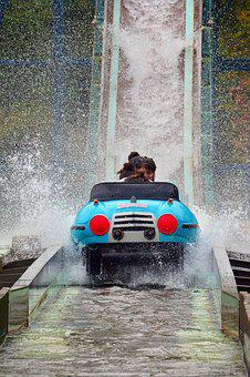 Wet, Body Of Water, Spray, Game, Amusement Park